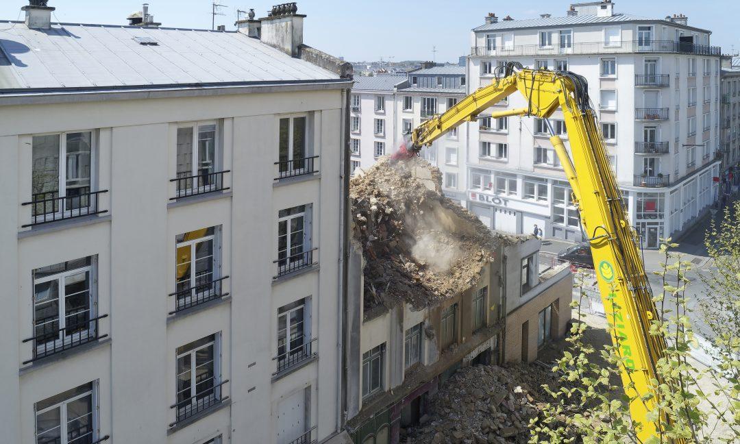grande hauteur Brest démolition