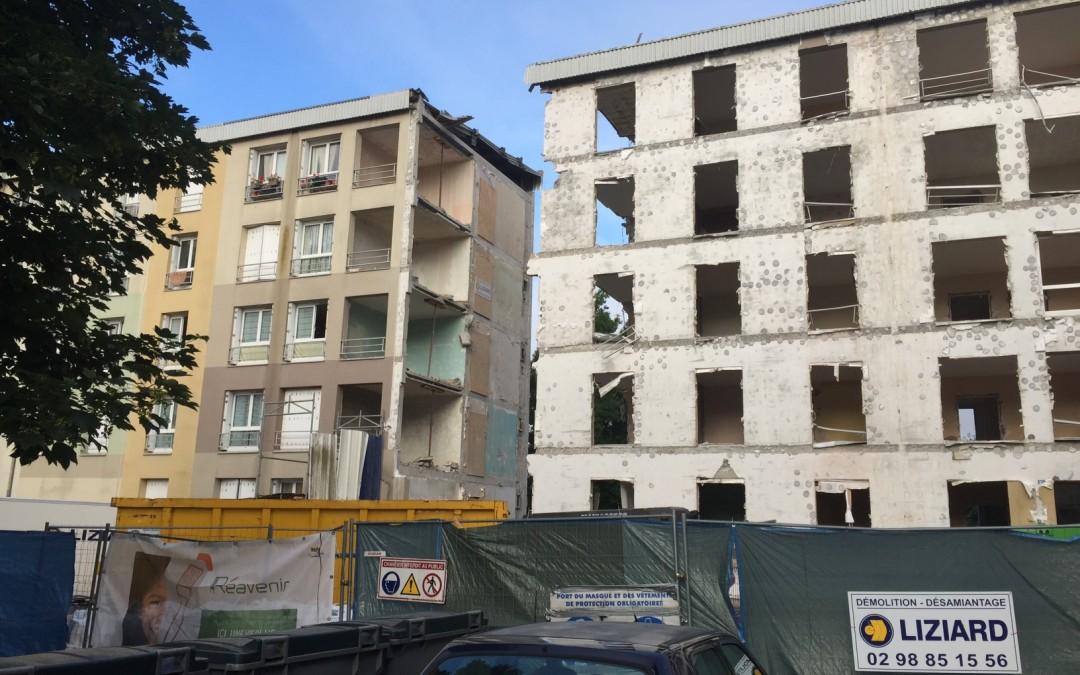 Habitat 29 – Sciage immeuble – Kérandon à Concarneau