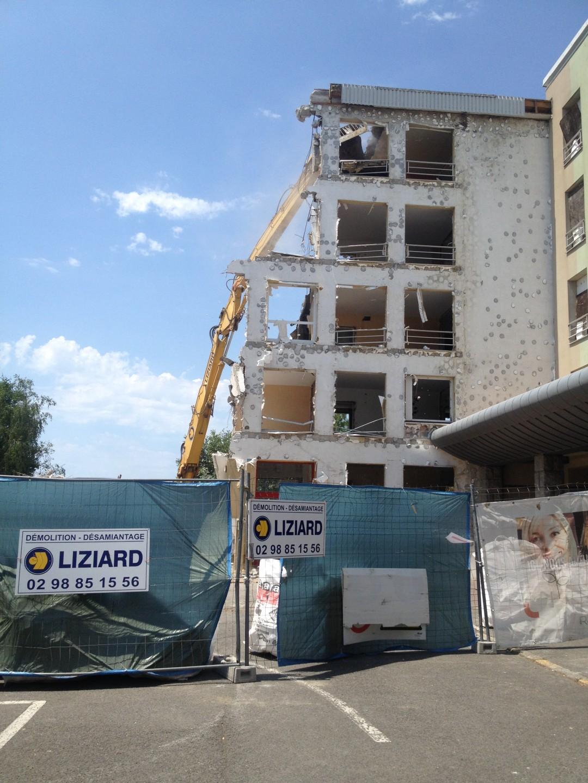 Habitat 29 – Démolition à Concarneau – Kérandon
