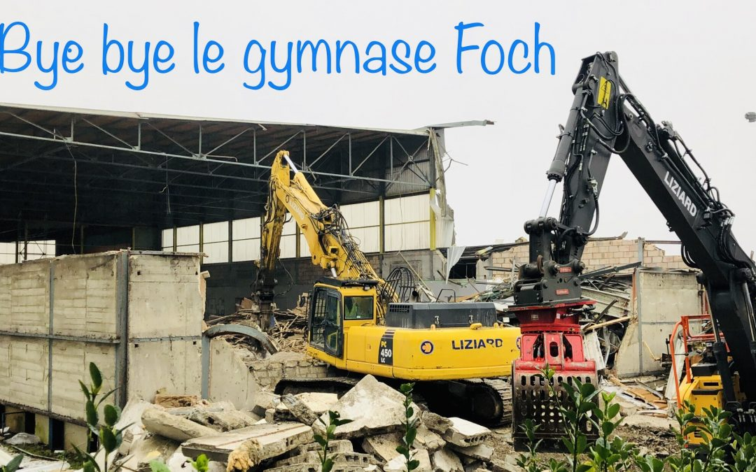 Ville de Brest – Démolition du gymnase Foch